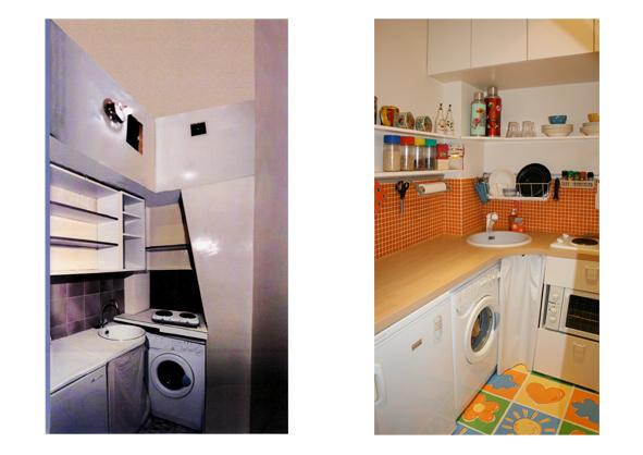 Avant apr s les r alisations en photos en architecture - Relooking salle de bain avant apres ...