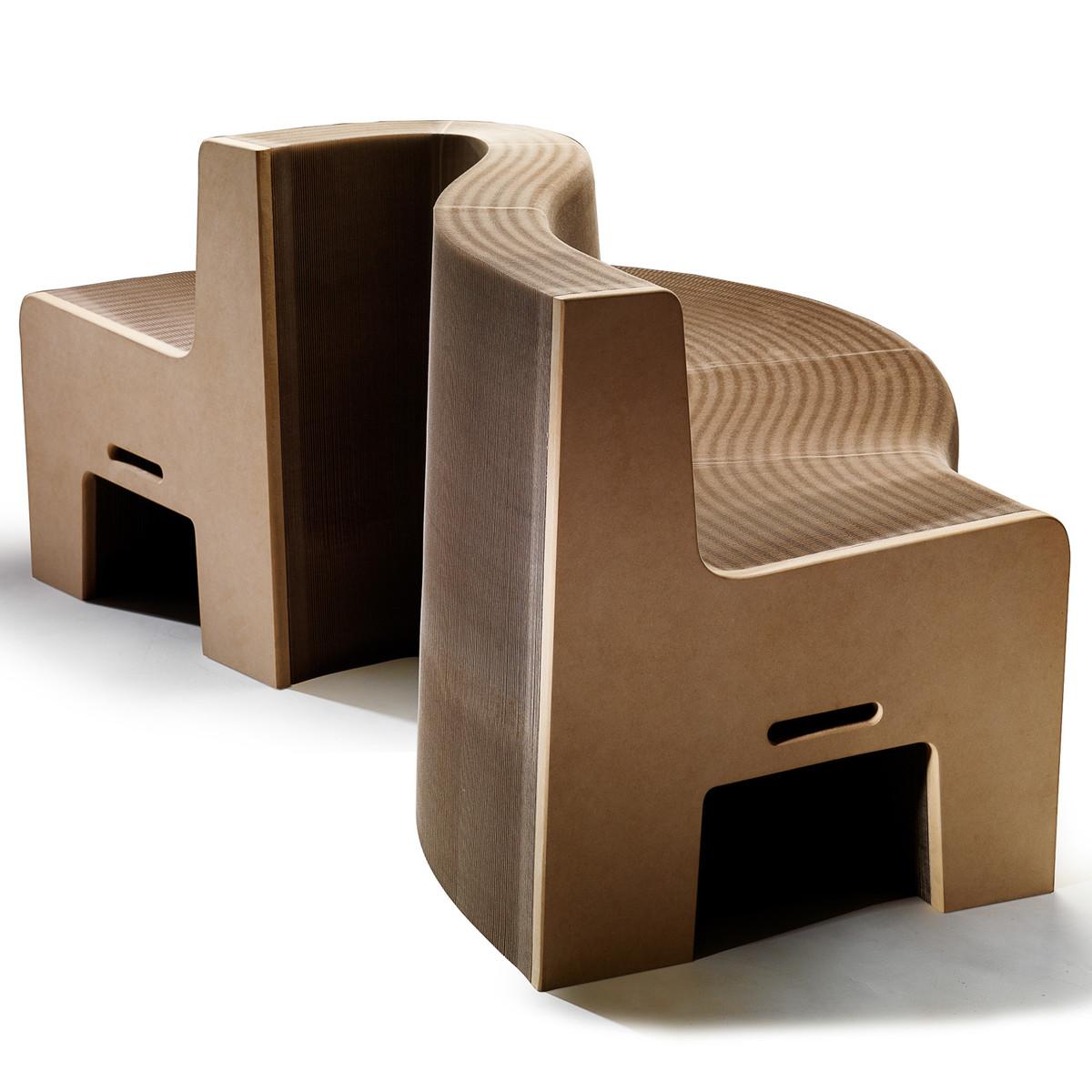 Carton et mobilier design architecture interieure conseil - Mobilier carton design ...