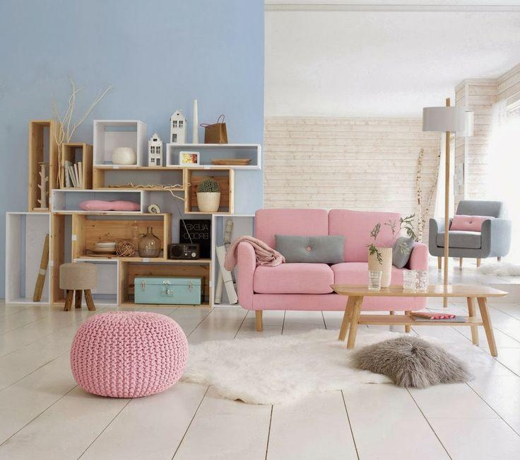 Couleur pastel de la douceur dans votre d co architecture interieure conseil - Couleur ontwerp pour salon ...