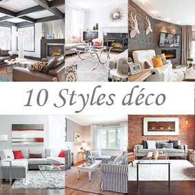 Deco style for Designer interieur laval