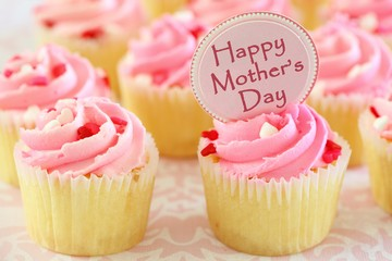 Happy Mother's Day Cupcakes fête des mères
