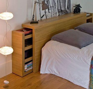 Tete de lit avec rangement meubles fran ais for Housse tete de lit ikea