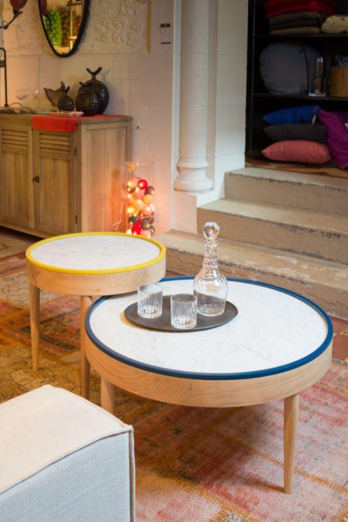 Drugeot Labo table marbre maison et objets 2016