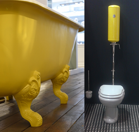 baignoire-couleur-jaune