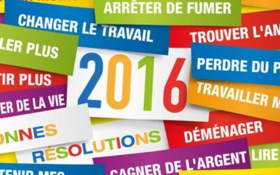 2016 Faut il prendre de bonnes résolutions?